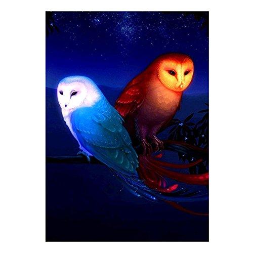 sunsoar 5d Eagleスタイルラインストーン刺繍ダイヤモンド絵画クロスステッチクラフト15.7X 11.8inの商品画像