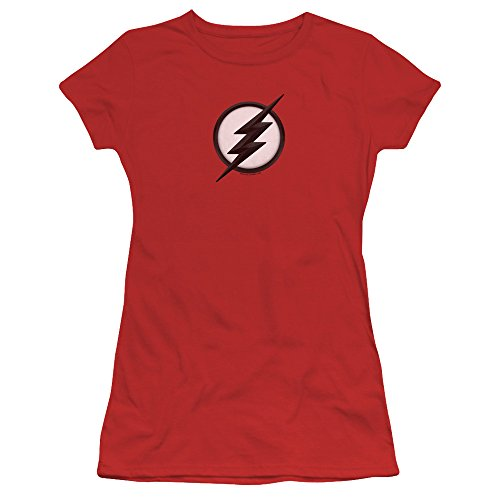 Trevco Flash Jesse Quick Logo Women's Sheer Fitted T Shirt - Art Womens Fitted T-shirt