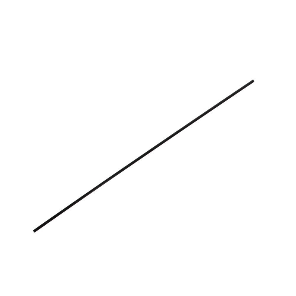 Fielect 1mm Diameter Carbon Fiber Straight Bar for RC Airplane Kites Etc 400mm 5pcs