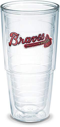 Atlanta Glass Braves - Tervis MLB Atlanta Braves Tumbler, 24 oz, Clear