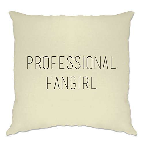 Professional Fangirl Fan Celeb Celebrities Funny Slogan Cool TV Cushion Cover Father Ted Christmas Episode