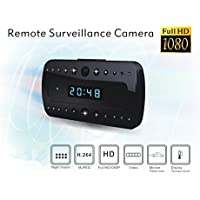 Freestep-19201080p-fhd-mini-clock-hidden-spy-camera-night-vision-120-degree-wide-view-angle