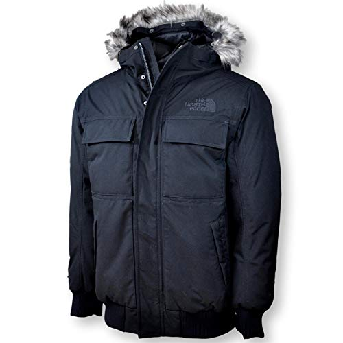 The North Face Men's Gotham Waterproof 550 Fill Down Bomber-Style Jacket, TNF Black, Medium