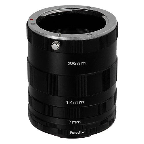 Fotodiox Pro Fujifilm X Macro Extension Tube Set for Extreme