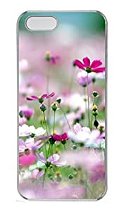 iPhone 5S Case, iPhone 5 Cover, iPhone 5S Galsang Flower 3 Hard Clear Cases