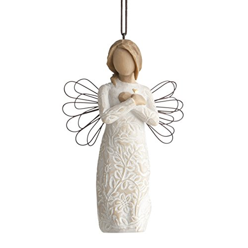 Willow Tree hand-painted sculpted Ornament, Remembrance ()