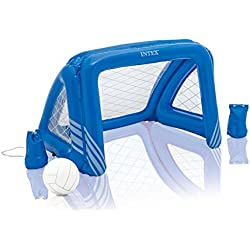 Intex Fun Goals Water Polo/Soccer Game Floating Swimming Pool Toy