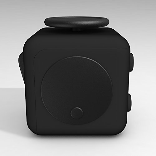 D-JOY Cube Fidget Toy Cube Relieves Stress and Anxiety Attention Toy for Work, Class, Home (Black) Photo #4