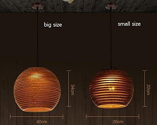 Southeast Asian style chandeliers woven pupae lamp Thai tea room bar Japanese style cafe restaurant Pendant Lights TA0125PY2 ( Size : Big size ) by SUPPER PP