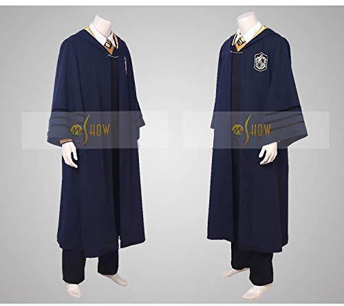 CosplayJet Men's Cosplay Costume for Fantastic Beasts and Where to Find Them Movie Newt Wizard Robe Deluxe Full Body Set Costume (Maze Runner Costume)