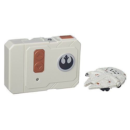 Star Wars The Force Awakens Micro Machines Millennium Falcon RC Vehicle]()