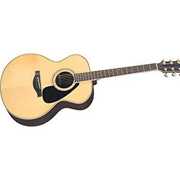 yamaha l series lj16 jumbo acoustic electric guitar with gig bag natural musical. Black Bedroom Furniture Sets. Home Design Ideas