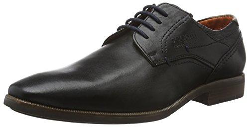Bugatti 311189011000, Zapatos de Cordones Derby para Hombre Negro (Schwarz)