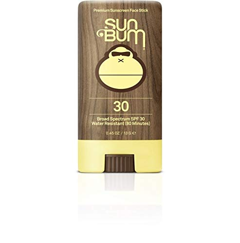 Sun Bum SPF 30 Sunscreen, Original Face Stick (2 Pack) by Sun Bum