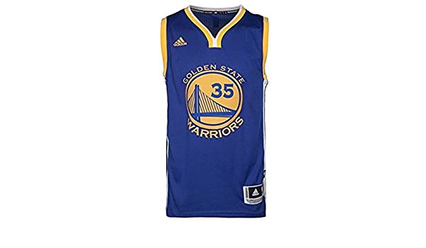 Adidas NBA Camiseta Jersey Golden State Warriors 35 Kevin Durant Talla 2 X S: Amazon.es: Deportes y aire libre