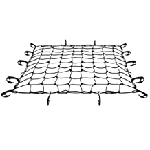 CARGO NET for SUV HEAVY DUTY Hooks Included Easy to Install PERFECT for Car Minivan Pickup Truck Hitch Trailer Trunk Hatchback Roof Rack Tie Down. Fits Tacoma Tundra Sienna Odyssey CRV RAV4 & MORE! GET YOUR SPECIAL GUARANTEE TODAY!