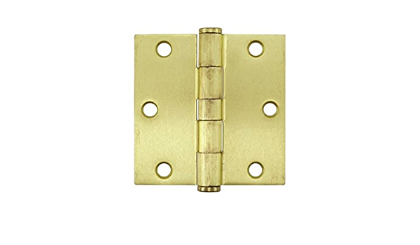 Pair Of Quality Brass Butt Hinges