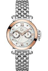 Guess Collection Women's Femme Bijou Steel Bracelet & Case Quartz MOP Dial Analog Watch X40004L1S