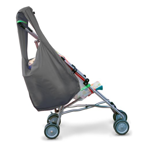Hatch Things SureShop Reusable Shopping Bag That Clips On To Keep Strollers Standing, Grey by Hatch Things