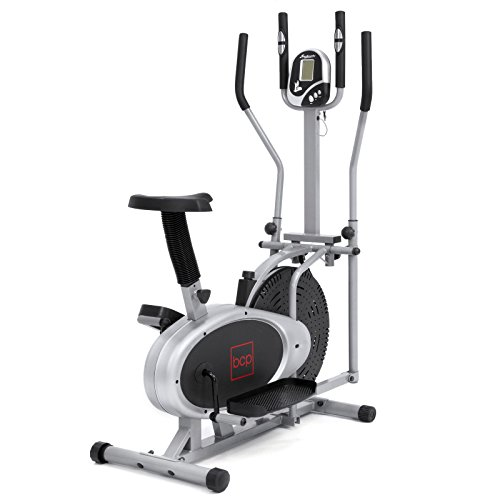 2 IN 1 Exercise Health Fitness Bike, Cross Workout Trainer Stationary Machine Upgraded - Ontario Hours Target
