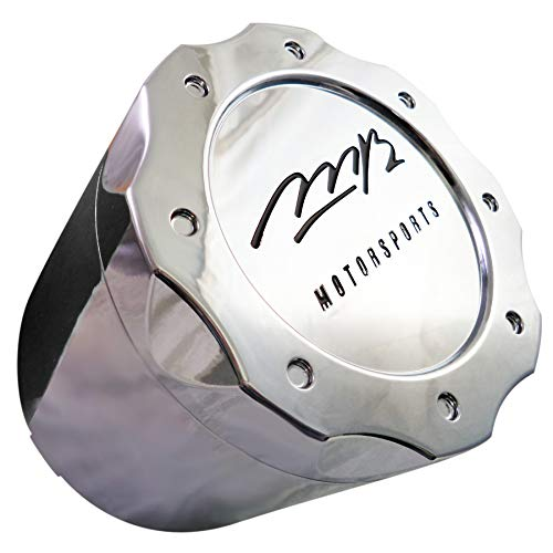 MB Motorsports Wheels Chrome Custom Wheel Center Cap # BC-671 (1 Cap) Tall 8 -