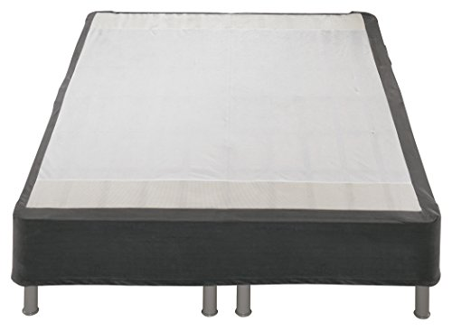 Ashley Furniture Signature Design - Sierra Sleep by Ashley - Perfect Riser - Better than a Box Spring All-in-One Support Foundation - Full - Dark Gray