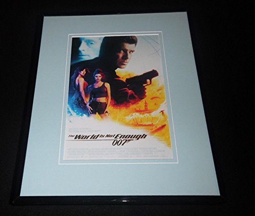 (The World is Not Enough James Bond Framed 11x14 Repro Movie Poster Display)