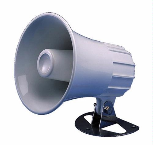 STANDARD 220SW 5 Inch ROUND LOUD HAILER - PA HORN