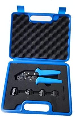 ケーブルカッター 圧着プライヤーミニセット 圧着コンビネーションツールキット プラスチックボックス 圧着ペンチ 手動ケーブルカッター
