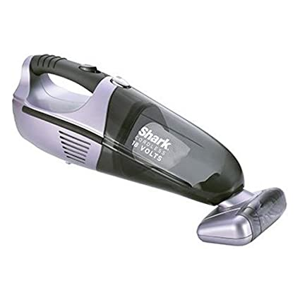 Shark Plastic Cordless Handheld Vacuum Cleaner, Medium(Silver)