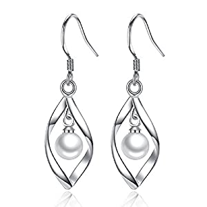 Wcysin Women Girls Fashionable Sterling Silver Double Marquise Loops Design Earrings by Wcysin that we recomend individually.