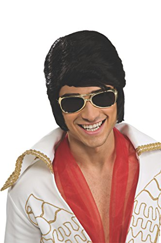 Rubie's Costume Elvis Wig and Glasses Accessory Set