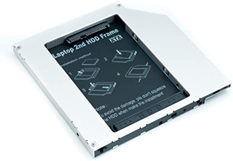 QUMOX Adaptador de 2do HDD SSD SATA para Disco Duro de ...