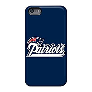 Great Cell-phone Hard Covers For Apple Iphone 6s Plus (Vhg486Mjxz) Support Personal Customs Vivid New England Patriots Skin