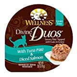 WELLPET-Wellness Divine Duos With Tuna P?t? & Diced Salmon 24/2.8oz