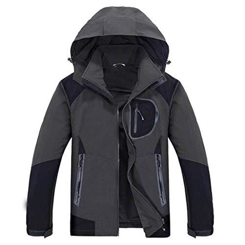 Alpinismo Da Set Viaggio Abbigliamento Soft Dimensioni Gray Antivento Caldo Esterno Viola Tute Giacca Campeggio Jbhurf L Donna Pezzi Uomo 2 colore FwS77q