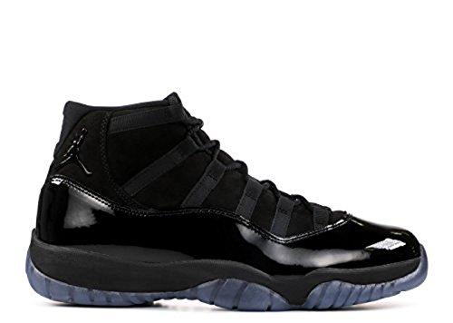 Nike Mens Air Jordan 11 Retro Cap and Gown Black/Black-Black Suede Size 8.5 ()