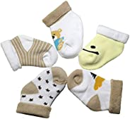 Thick terry baby Organic cotton socks