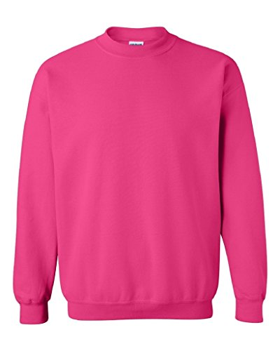 Plain Crewneck Sweatshirt (IZ.80 Unisex Heavy Blend Gildan CREWNECK Sweatshirt L Hot Pink)