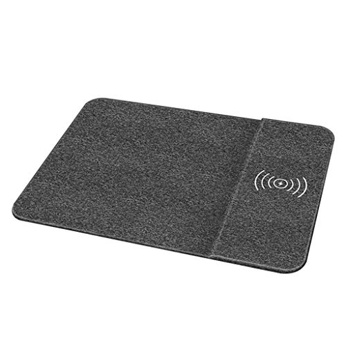 Redvive Top QI Wireless Charging Mouse Pad Desktop Charger for Samsung for iPhone for Nokia