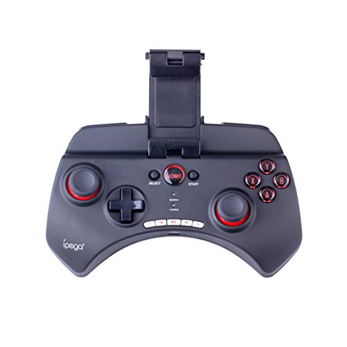 Chezaa IPEGA PG-9025 Wireless Adapter Joystick Gamepad Controller Holder for Android iOS Tablet PC,Rechargeable Bluetooth Pro Game Pad Joystick Controller