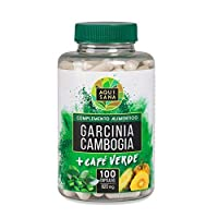 Garcinia Cambogia & Grüner Kaffee Tabletten, Green Coffee Fat Burner & Appetitzügler, 100 Fettverbrenner Pillen, natürliches Nahrungsergänzungsmittel, Grüner Kaffee Extrakt, Grüner Kaffee Diät (Koffein)