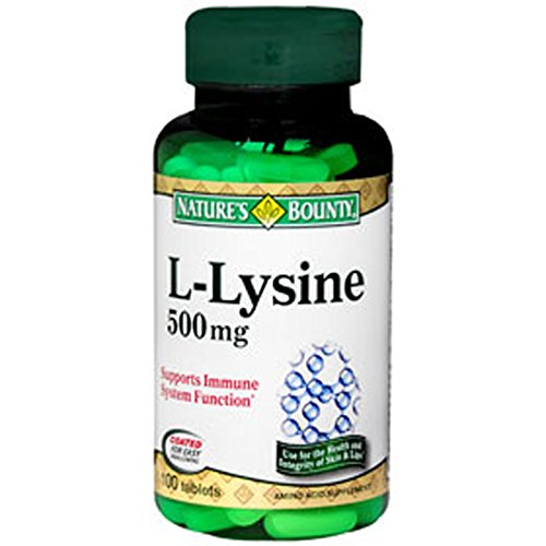 Bounty naturel L-Lysine de la