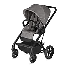 On the new Balios S Silver Collection, you'll find beautiful leather deailing on the handlebar and belly bar.       The redesigned Balios S offers convenience for you and comfort for your baby, all in a chic, stylish package. The suspe...