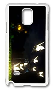 Adorable glowing butterflies art Hard Case Protective Shell Cell Phone For Case Iphone 6 4.7inch Cover - PC White