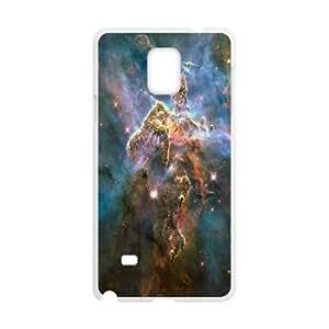 Samsung Galaxy Note 4 Case Carina Nebula 2, [White]