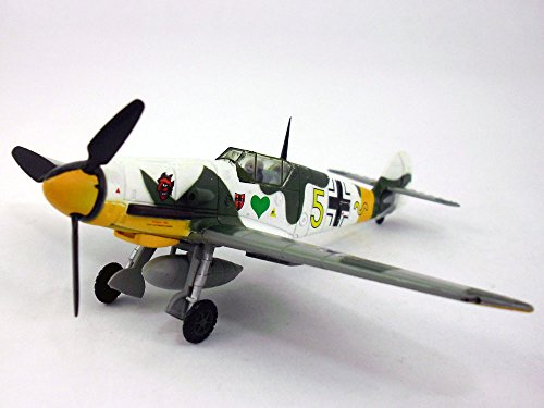 Messerschmitt Bf-109 1/72 Scale Diecast Metal Airplane Model (Bf Fighter 109)
