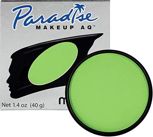 Mehron Makeup Paradise Makeup AQ Face & Body Paint (1.4 oz) (Light Green)