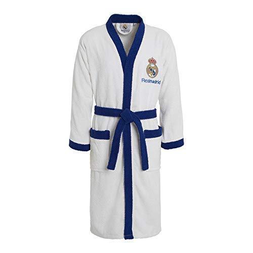 Babychispitas Albornoz Real Madrid C.F. Producto Oficial  Amazon.es  Ropa y  accesorios 117ade574574a
