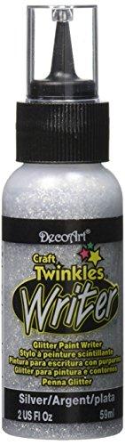 DecoArt Twinkle Writers 2 Ounce Silver